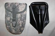 Us Military Issue Entrenching E Tool Shovel With Cover Ames 08