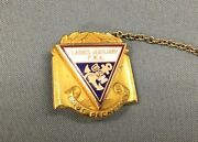 10kt Yellow Gold Ladies Auxiliary F.r.a Usn Navy Past Secretary - 5.6 Grams