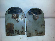 1968 Chris Craft Boat Starboard Port Battery Switches 65 66 67 69 70 71 Rat Rod