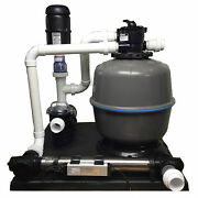 Gc Tek Pondkeeper 2500 Filter System Ponds 2,500 Gallons And 65 Lbs Fish Load