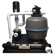 Gc Tek Pondkeeper 1500 Filter System Ponds 1,500 Gallons And 40 Lbs Fish Load