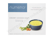 Robard Numetra Creamy Chicken Soup - 1 Case - 84 Servings - Similar To Optifast