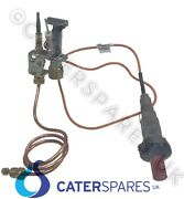 Hobart Wolf Gas Chargrill Pilot Assembly And Thermocouple And Ignition Scb Series