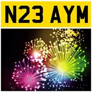 N23 Aym Amy Amys Aimi Aimis Aimee Aimees Ame Ames Amee Private Number Plate Pug