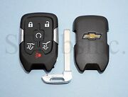 New Oem Chevy Smart Key Proximity Remote Fob Case Shell Pad Replacement Hyq1aa