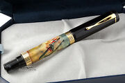 Bexley 'dog Fight With The Red Baron' Fountain Pen - One Of A Kind