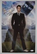 David Tennant Doctor Who Jsa 17 X 11 Autograph Signed Photo Dr Who