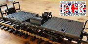Brand New G Scale 45mm Gauge Truck And Fitted Lgb Rail Track Cleaner Railway Train