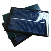 6v 100ma 0.6w Mini Epoxy Solar Panel Photovoltaic Polycrystalline Cell Charger