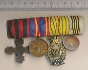 Romania Medal Bar Orders Military Independence Romanian Order Officer 1877 Carol