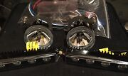 Brabus Front Bumber Fog Light / Led Day Headlight W 212 E Class Set Of L And R