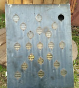 Railroad Train Track Switch Light Signal Marker Traffic Authentic Vintage Ussr