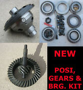 8 Ford Trac-lock Posi - Gear - Bearing Kit Package - 3.55 Ratio - 8 Inch New