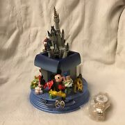 Disney World Mickey Mouse 30th Anniversary Figure Watch Le Castle Figurines