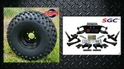 Club Car Ds Golf Cart 6 A-arm Lift Kit + 8 Wheels And 22 At Tires 1982-2003