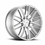 20 Savini Bm13 Silver Concave Wheels Rims Fits Ford Mustang Gt Gt500