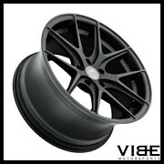 19 Avant Garde M580 Black Concave Staggered Wheels Rims Fits Acura Tsx