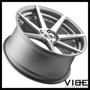 20 Vertini Dynasty Silver Concave Wheels Rims Fits Infiniti G37 G37s Coupe