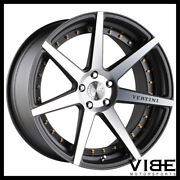20 Vertini Dynasty Machined Concave Wheels Rims Fits Infiniti G37 G37s Coupe