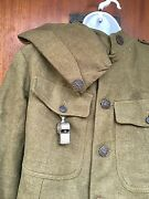 Original Wwi Us Army Mp Uniform Wool Tunic Coat And Pants Army Pamphlets Photos
