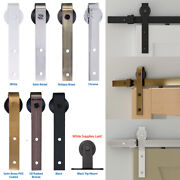 Designer Collection Rolling Barn Door Hardware Kits For 32, 36 Or 48 Openings