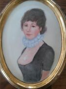 Hand Painted Portrait Victorian Woman Lid Limoges Dresser Box Rosemary Arnold