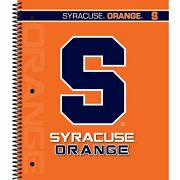 Lot Of 11 C.r. Gibson 5-subject Spiral Notebook College Ruled Syracuse Orange