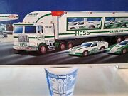 1997 Hess Truck And Rangers In Mint Condition
