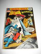 Batman Starring In The Brave And The Bold 101 Apr.- May 1972