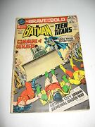 Batman Starring In The Bave And The Bold 102 July 1972