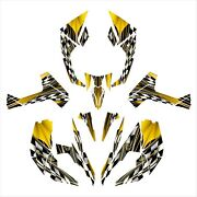 Can Am Renegade 800 800r 800x Graphics Sticker Kit Full Coverage 2500 Yellow