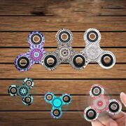 Camouflage Color Fidget Hand Spinner Finger Gyro Toys Edc Focus Stress Reliever
