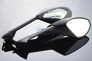 2012 2013 New Ducati 1199 Panigale S R Abs Black Turn Signals Mirrors Set Pair