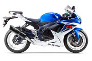 2011-2020 Gsxr600 Two Brothers Carbon Fiber Full Exhaust System Black Series