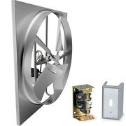 48 Exhaust Fan - 25,455 Cfm - 115 Volts - 2 Hp - 3 Phase - Commercial Grade