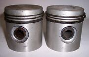 Antique Harley Nos +.010 Pistons 45 Flathead Engine D R V W U K Servi-car 2