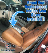2003-2007 Ford F250 F350 King Ranch-driver Side Bottom Nubuck Leather Seat Cover