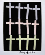 Andy Warhol Crosses 1982 Hand Signed Print