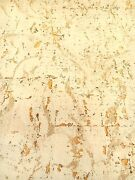 Vintage Wallpaper Cork Texture Straw Color By By The Yard
