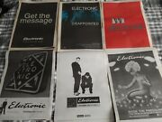 Electronic Original Advert / Small Poster Get The Message +more New Order Smiths