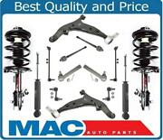 12 Pcs Chassis Kit For Nissan Quest 2004-2009 Struts Shocks Control Arms Links