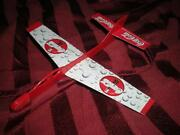 Rare Vintage 3pc Coca Cola Rubber Body Paper Main,tail Wings Glider Airplane