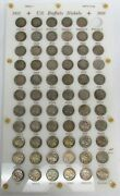 1913 - 1938 Complete Less 1 United States Buffalo Nickels 65 Coins Vg - Unc