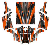 Polaris Rzr 800 800s Graphics Decal Kit 2011 - 2014 With Tusk Doors Roof 3333