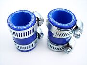Yamaha Banshee Exhaust Pipe Clamps Blue Fit 1987-2006 Factory Dg Fmf Toomey Pc