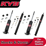 4x Frontandrear Struts Shock Absorber Kyb Fits 1982-1989 Lincoln Town Car