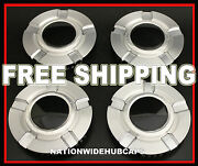 4 Chevy 18 20 Alloy Wheel Center Hub Caps 5 Spoke Lug Hubs Bolt Nut Rim Covers