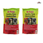 2 Hi-yield Garden Pet Livestock Dust And Vegetable Insecticide New