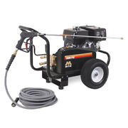 Mi-t-m Professional 3500 Psi Gas-cold Water Pressure Washer W/ Belt-drive And...