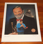 Al Hirt 16 X 20 Lithograph By Christopher Paluso - Signed And Numbered